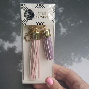 NIP Tassel Keychain